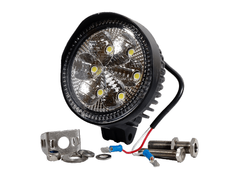 High Output Round Flood Light - Heavy Duty Lighting (en-US) Products