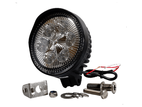 High Output Round Spot Light - Heavy Duty Lighting (en-US)