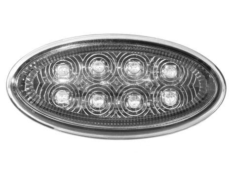 Peterbilt®  Oval LED Side Marker Turn Light - Heavy Duty Lighting (en-US) Products