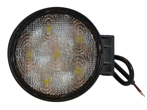 High Output Round Slim Line Work Light - Heavy Duty Lighting (en-US)