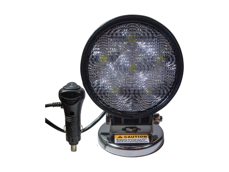 High Output Round Magnetic Base Work Light - Heavy Duty Lighting (en-US)