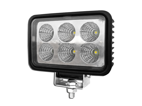 High Output Rectangular LED Work Light - Heavy Duty Lighting (en-US) Products