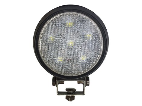 High Output Round LED Work Light | Rubber Housing - Heavy Duty Lighting (en-US) Products