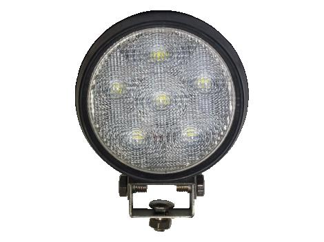 High Output Round LED Work Light | Rubber Housing - Heavy Duty Lighting (en-US)