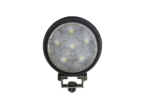 High Output Round Work Light | Rubber Housing - Heavy Duty Lighting (en-US)