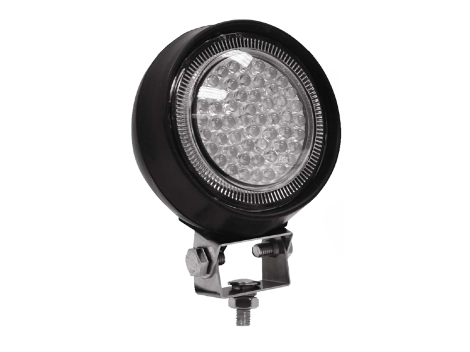 Round LED Work Light | Rubber Housing - Heavy Duty Lighting (en-US)