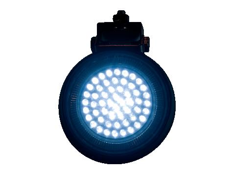 Round Work Light | Rubber Housing - Heavy Duty Lighting (en-US)