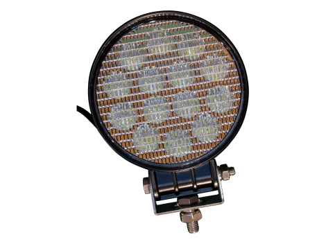 High Output Round Work Light - Heavy Duty Lighting (en-US)