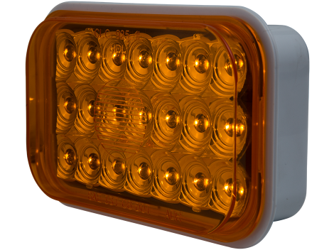 "5"" Rectangular Amber Park Turn Light - Heavy Duty Lighting (en-US) Products"