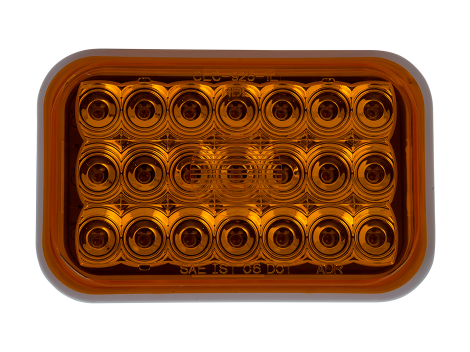 "5"" Rectangular Amber Park Turn Light - Heavy Duty Lighting (en-US)"