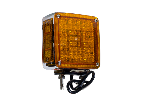 "Double Post 5"" Pedestal Park Turn Light 