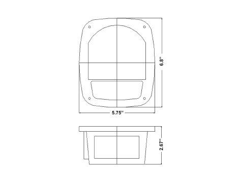 Universal Square Combination Box Light - Heavy Duty Lighting (en-US)