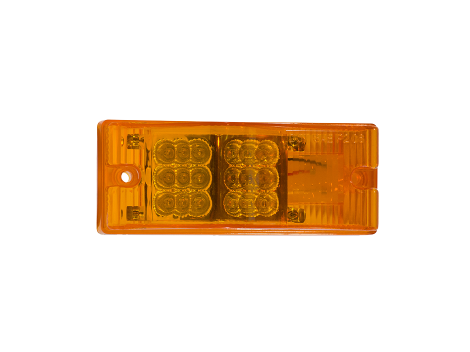 "2"" x 6"" Rectangular Surface Mount Turn Marker Light - Heavy Duty Lighting (en-US)"
