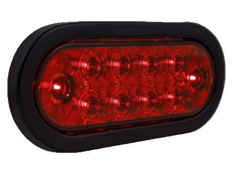 """6"""" Oval LED Stop Tail Turn Light - Heavy Duty Lighting (en-US)"""