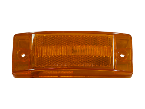 "2"" x 6"" Reflex Lens Surface Mount Turn Marker Light - Heavy Duty Lighting (en-US)"