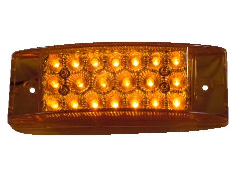 """2"""" X 6"""" Surface Mount Marker Light - Heavy Duty Lighting (en-US)"""