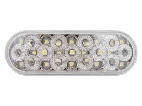 """6"""" Oval LED Backup Light w/Reflector - Heavy Duty Lighting (en-US)"""