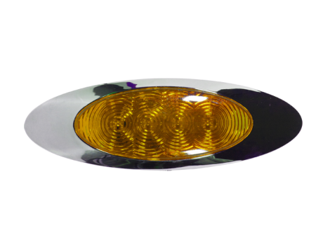 "6"" Oval LED Clearance Marker Light - Heavy Duty Lighting (en-US) Products"