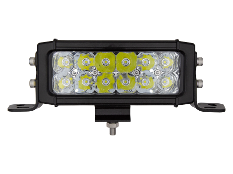 """6.6"""" LED High Output Light Bar with Double Row Driving Beam - Heavy Duty Lighting (en-US) Products"""