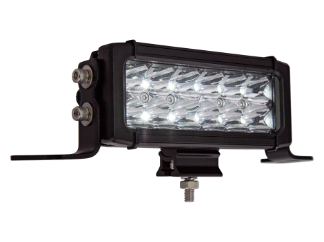 """6.6"""" LED High Output Light Bar with Double Row Driving Beam - Heavy Duty Lighting (en-US)"""