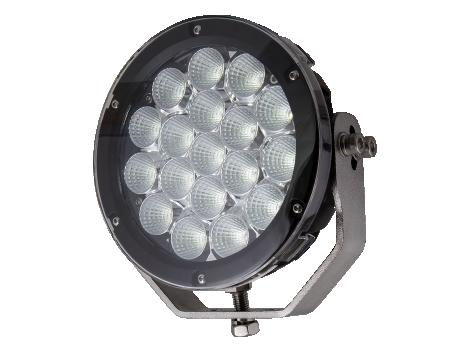 "Super High Output 7"" Round Flood Light - Heavy Duty Lighting (en-US)"