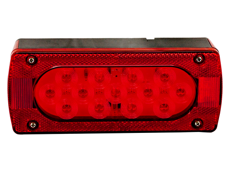 Rectangular LED Combination Right Trailer Light - Heavy Duty Lighting (en-US)