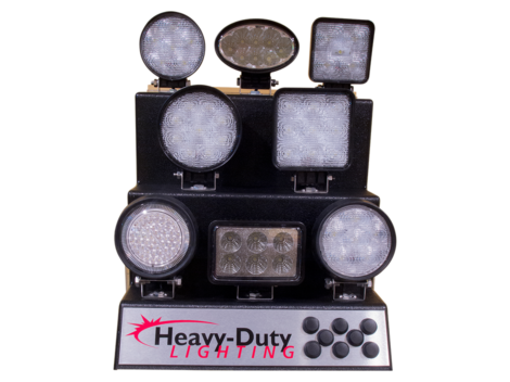 LED Work Light Display - Heavy Duty Lighting (en-US) Products