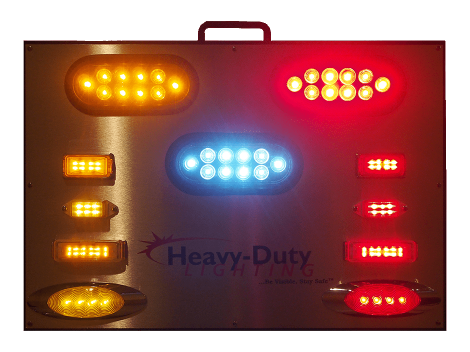 "23"" X 16"" Self-Powered Illuminated Display Board - Heavy Duty Lighting (en-US)"