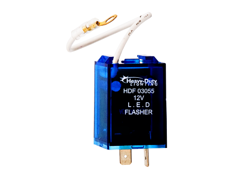 2 Pin, Electronic Wigwag, LED Flasher - Heavy Duty Lighting (en-US)