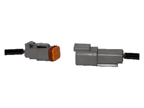 "6"" Pigtail with Deutsch Connector - Heavy Duty Lighting (en-US)"