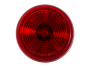 "2"" Round Red Clearance Marker Light  - Heavy Duty Lighting"