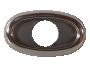 Oval Stainless Steel Bezel - Heavy Duty Lighting
