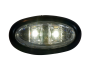 Mini Oval Flush Mount Utility Light - Heavy Duty Lighting
