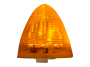 "2.5"" Beehive Amber Clearance Marker Light  - Heavy Duty Lighting"