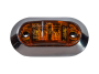 "2.5"" Oval Clearance Marker Light - Heavy Duty Lighting"