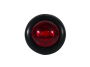 Mini Round Red 2-Wire Clearance Marker Light - Heavy Duty Lighting