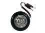Mini Round Clear/White Flush Mount Utility Light - Heavy Duty Lighting