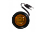 Mini Round Amber 2-Wire Clearance Marker Light - Heavy Duty Lighting