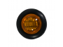 Mini Round Amber 3-Wire Clearance Turn Marker Light - Heavy Duty Lighting