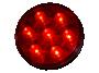 "4"" Round Stop Tail Turn Light - Heavy Duty Lighting"