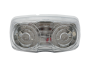 "4"" Double Bull's Eye Clearance Marker Light - Heavy Duty Lighting"