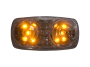 "4"" Double Bull's Eye Clearance Marker Light - Heavy Duty Lighting"