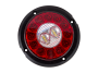 "4"" Round Surface Mount Combination Stop Tail Turn with Backup Light  - Heavy Duty Lighting"