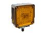 "Single Post 5"" Pedestal Park Turn Light | Right Side - Heavy Duty Lighting"
