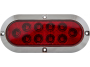 "6"" Oval Surface Mount Stop Tail Turn Light - Heavy Duty Lighting"