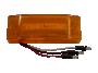"2"" x 6"" Reflex Lens Surface Mount Turn Marker Light - Heavy Duty Lighting"