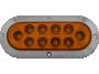 "6"" Oval Surface Mount Park Turn Light - Heavy Duty Lighting"