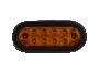 "6"" Oval Park Turn Light - Heavy Duty Lighting"