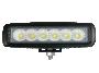 Slim Rectangular High Power Work Flood Lamp - Heavy Duty Lighting