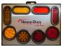 "23"" X 16"" Self-Powered Illuminated Display Board - Heavy Duty Lighting"